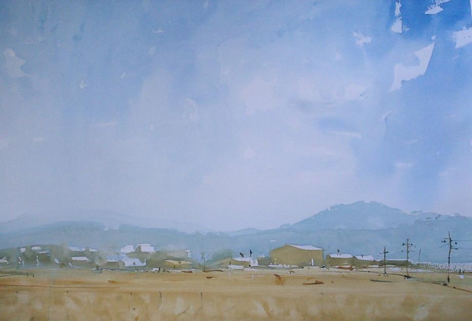 Felanitx. Mallorca |Pintura de Iñigo Lizarraga | Compra arte en Flecha.es