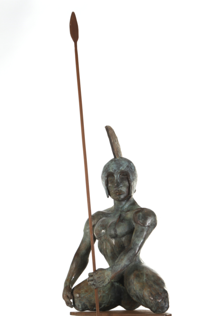 HÉCTOR |Escultura de Javier Rodanés | Compra arte en Flecha.es