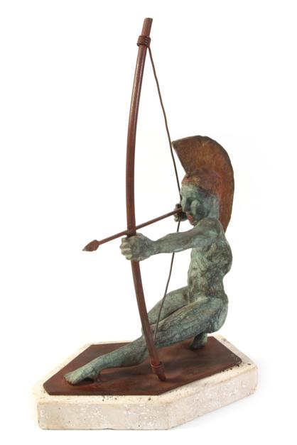 ARQUERO | Escultura de Javier Rodanés | Compra arte en Flecha.es