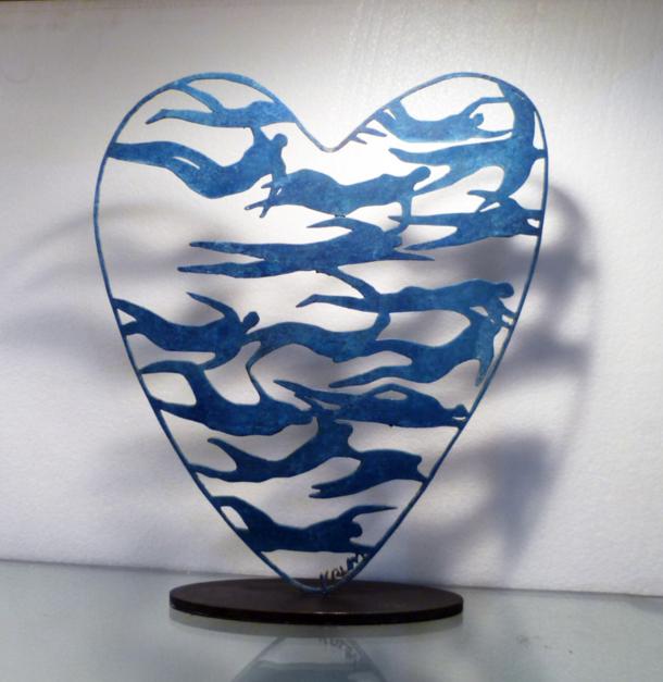 Desde el corazón 2 |Escultura de Krum Stanoev | Compra arte en Flecha.es