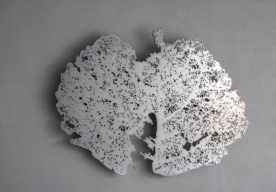 Hoja |Escultura de Krum Stanoev | Compra arte en Flecha.es