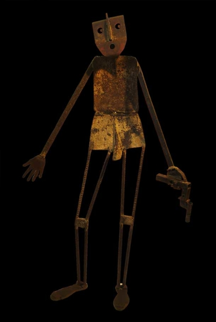 FACE A LA CRISE IV |Escultura de Gerardo de Pablo | Compra arte en Flecha.es