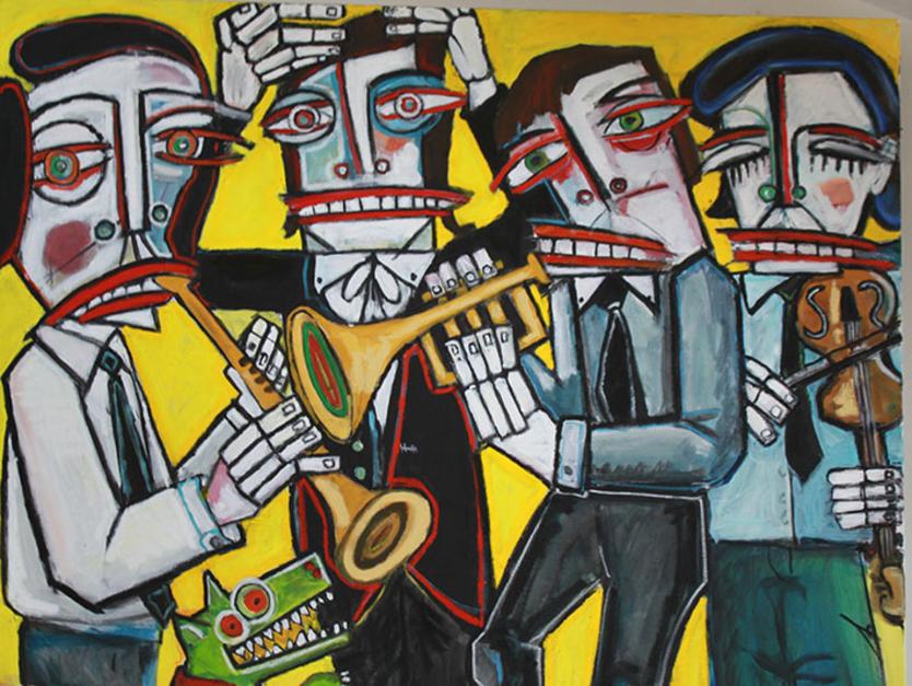 Dixie Land |Pintura de Veo blasco | Compra arte en Flecha.es