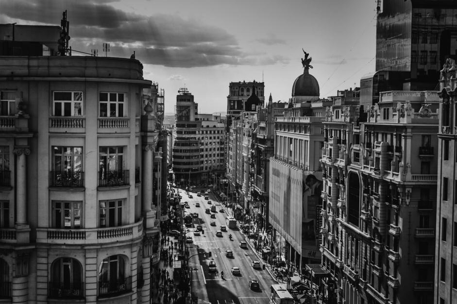 Gran Vía I |Fotografía de Pepe González-Arenas | Compra arte en Flecha.es