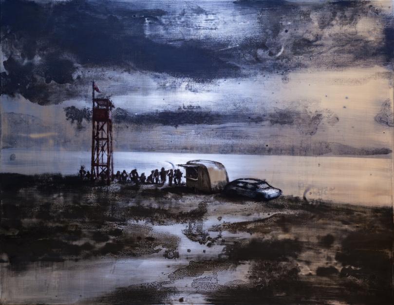 Ya vienen |Pintura de Ignacio Fortún | Compra arte en Flecha.es