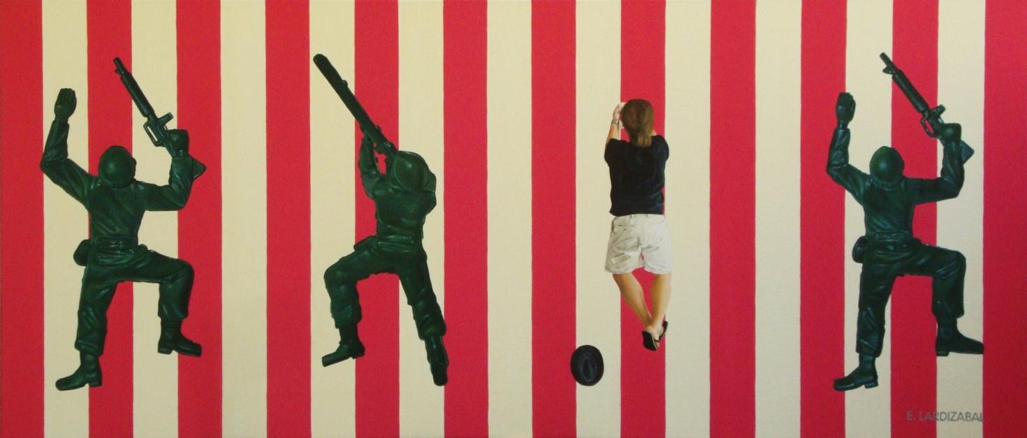 Tiempos violentos |Pintura de Eugenia Lardizabal | Compra arte en Flecha.es