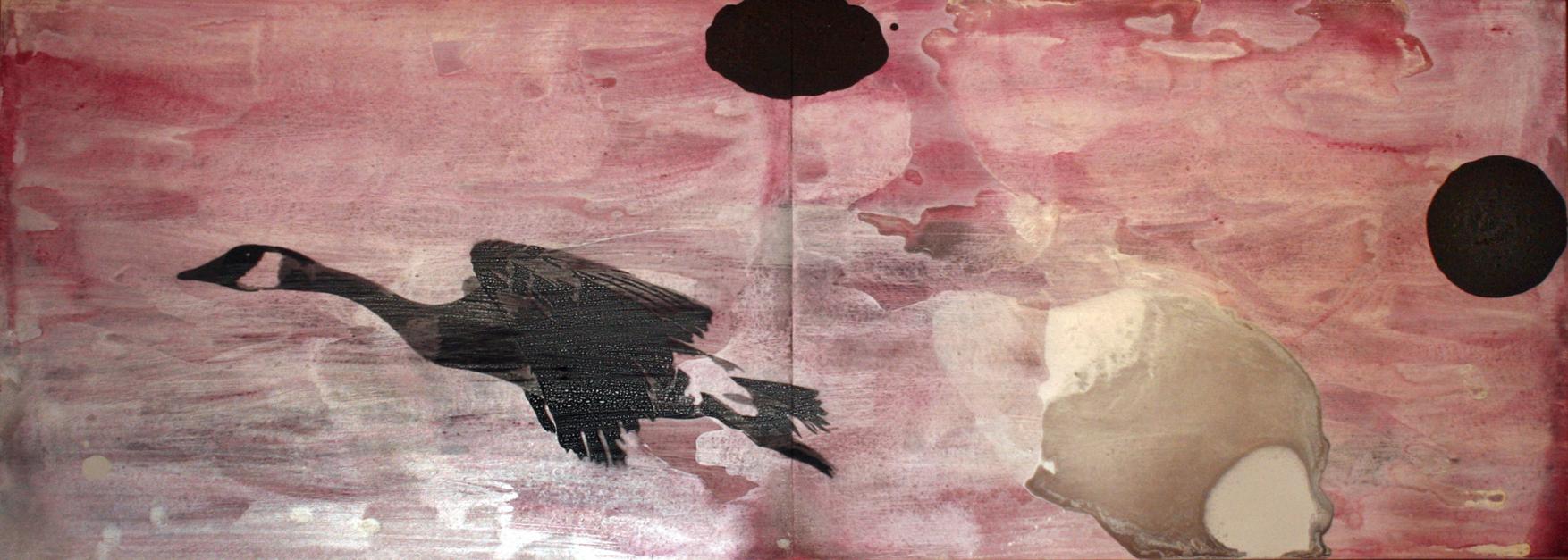VUELO |Dibujo de Enrique González | Compra arte en Flecha.es