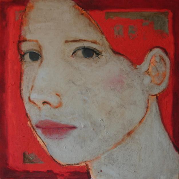 """ALEJANDRA""  Pintura de Eduardo Salazar   Compra arte en Flecha.es"