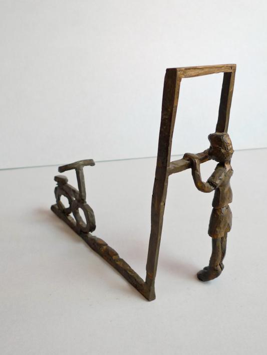 Desear una bicicleta   Escultura de Ana Valenciano   Compra arte en Flecha.es