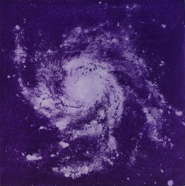 Messier 101 |Obra gráfica de Arkal | Compra arte en Flecha.es