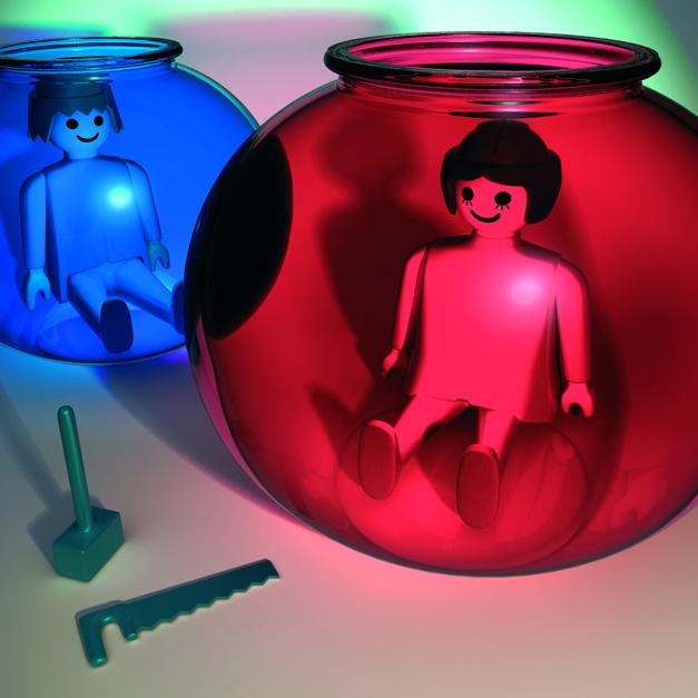 En la pecera 04 |Digital de Emilio León | Compra arte en Flecha.es