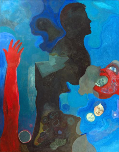 Pesadilla |Pintura de Fernando Charro | Compra arte en Flecha.es