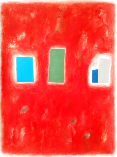 Red city |Pintura de Luis Medina | Compra arte en Flecha.es