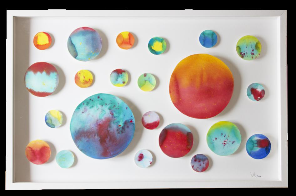 Galactik Galaxi |Pintura de Violeta Maya McGuire | Compra arte en Flecha.es