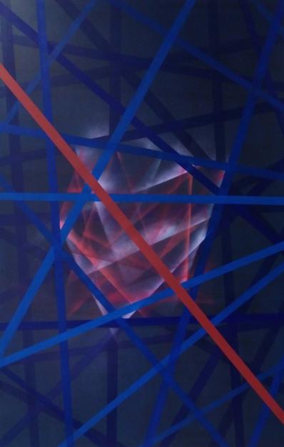 la joya del bosque |Pintura de Juan Caravaca Art | Compra arte en Flecha.es