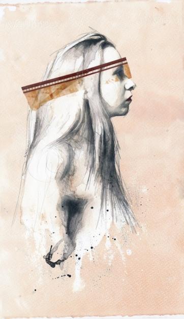 Tell me a happy ending story Vol 2 |Dibujo de Mentiradeloro | Compra arte en Flecha.es