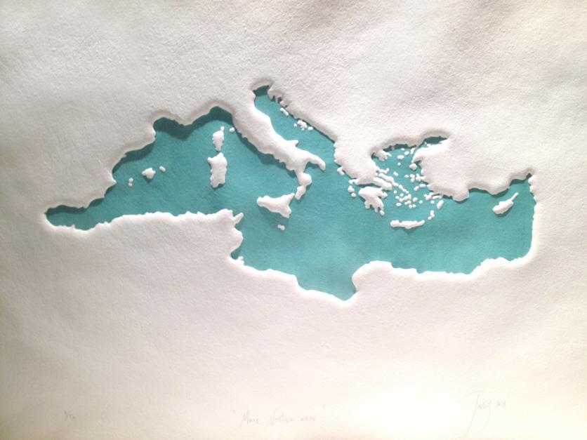 Mare Nostrum XXIV |Obra gráfica de Jaelius Aguirre | Compra arte en Flecha.es