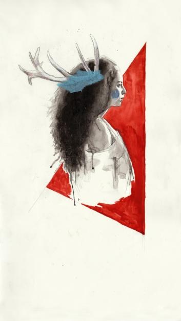 Dreams burn at dusk |Collage de Mentiradeloro | Compra arte en Flecha.es