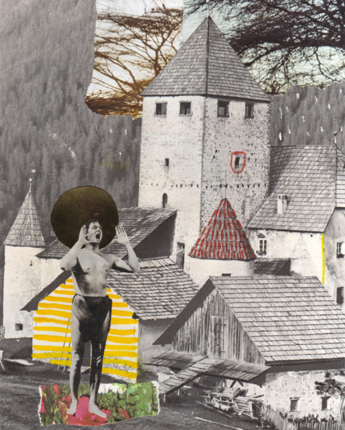 """Ahoy Again"" |Collage de Ana Cano Brookbank | Compra arte en Flecha.es"