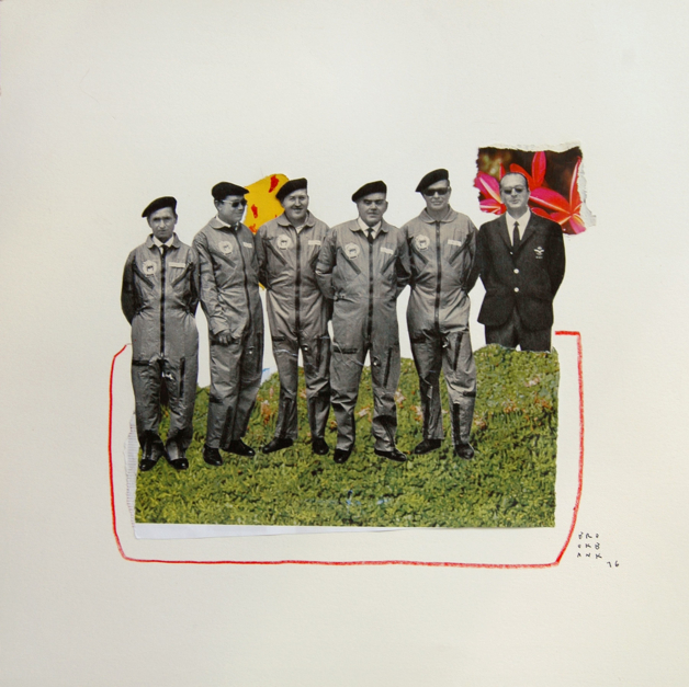 Strawberry Fields Forever |Collage de Ana Cano Brookbank | Compra arte en Flecha.es