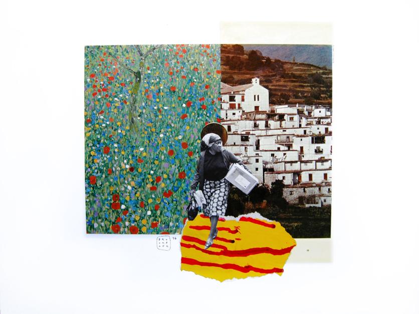 Exodus |Collage de Ana Cano Brookbank | Compra arte en Flecha.es