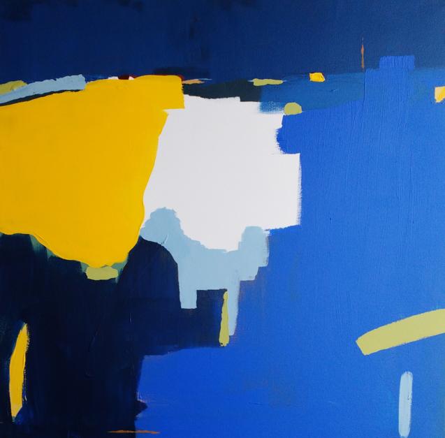 Azul |Pintura de Leticia Gª Marañón | Compra arte en Flecha.es