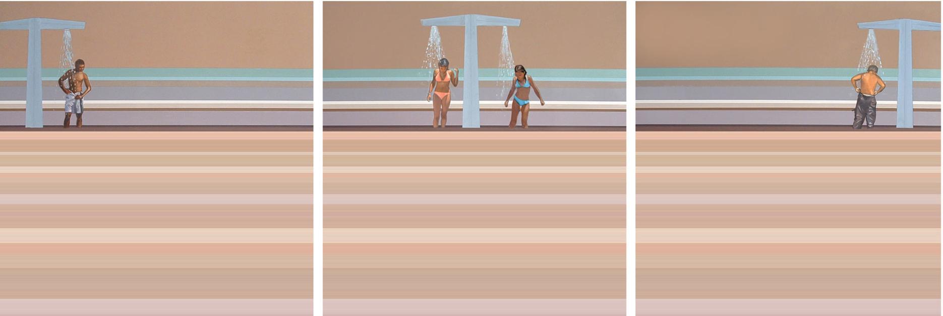 Watching Beach TV  Pintura de Aurora Rumí   Compra arte en Flecha.es