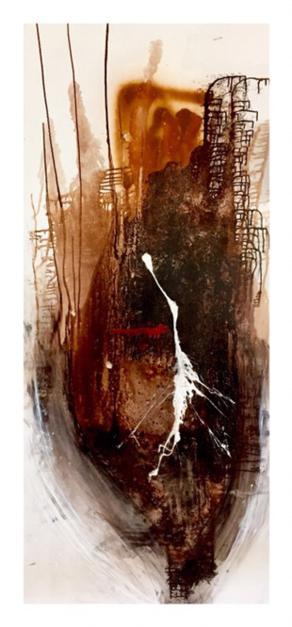 Una flor |Pintura de Alejandro Lopez | Compra arte en Flecha.es