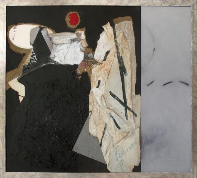 Antonio y Belen |Collage de Raul Eberhard | Compra arte en Flecha.es