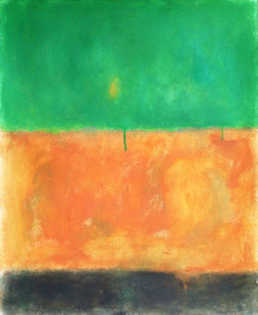 Green earth |Pintura de Luis Medina | Compra arte en Flecha.es