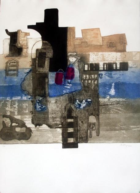 Imago |Obra gráfica de Elisa Ortega | Compra arte en Flecha.es