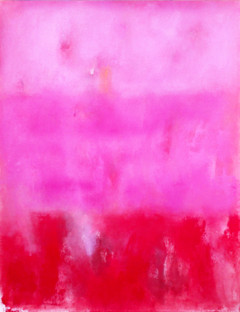 Field in rose |Pintura de Luis Medina | Compra arte en Flecha.es