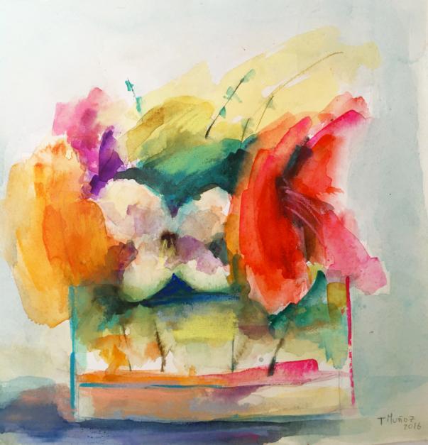 Lugares y Jardines Imaginarios VI |Pintura de Teresa Muñoz | Compra arte en Flecha.es