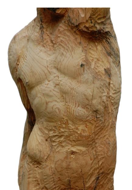 Torso masculino |Escultura de Jesús Arévalo | Compra arte en Flecha.es
