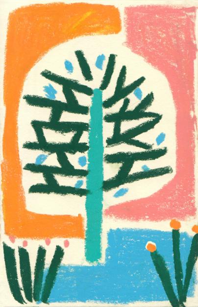 Árbol |Dibujo de Inma Lorente | Compra arte en Flecha.es