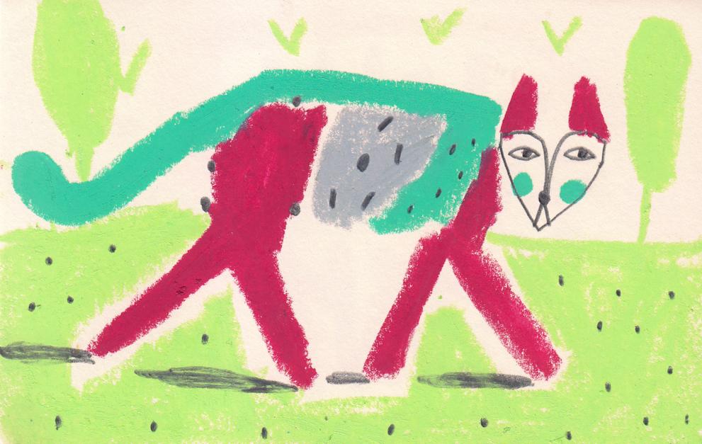 Zorro |Dibujo de Inma Lorente | Compra arte en Flecha.es