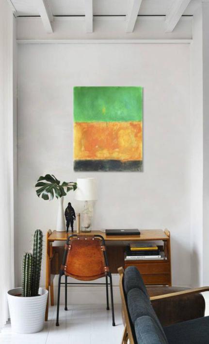 Green earth | Pintura de Luis Medina | Compra arte en Flecha.es
