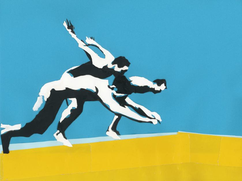 Untitled #03 |Collage de Leo Rydell Jost | Compra arte en Flecha.es
