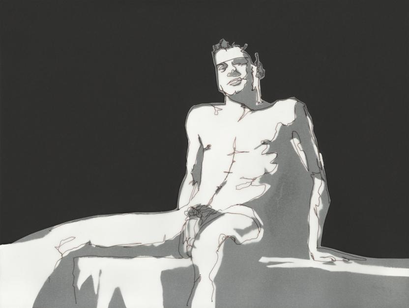 Untitled #01 |Collage de Leo Rydell Jost | Compra arte en Flecha.es