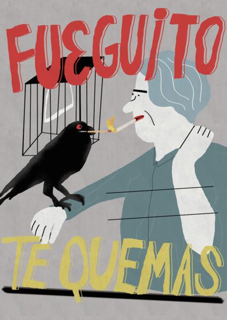 Fuegote |Digital de Elena Éper | Compra arte en Flecha.es