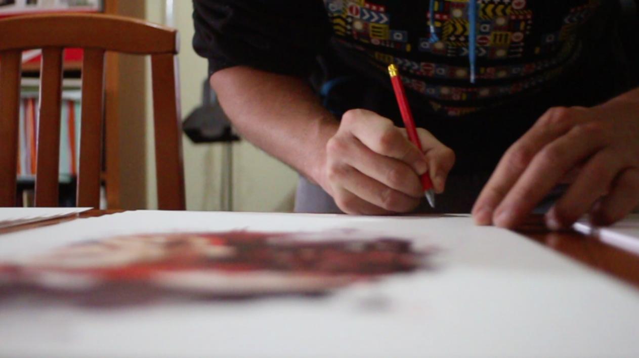 Caperucita feroz | Digital de ASIER | Compra arte en Flecha.es