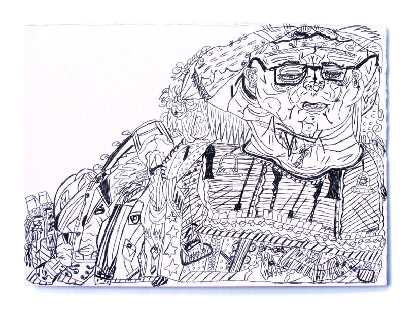 Chica Pintora |Dibujo de Alicia Herrera | Compra arte en Flecha.es