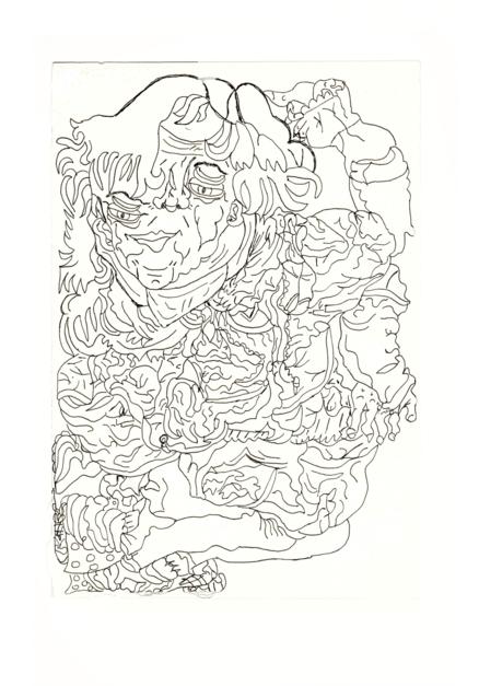Bailarina |Dibujo de Alicia Herrera | Compra arte en Flecha.es