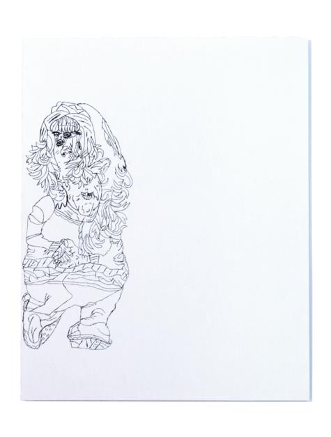 Policía de tráfico |Dibujo de Alicia Herrera | Compra arte en Flecha.es