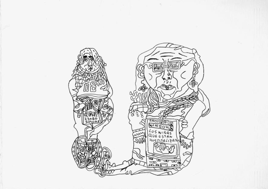 Sin título |Dibujo de Alicia Herrera | Compra arte en Flecha.es