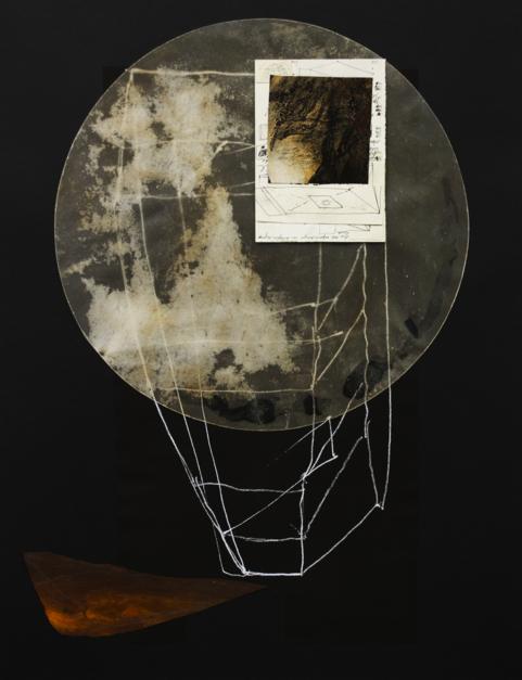 Construcciones espirituales 9 |Collage de Txabi Sagarzazu | Compra arte en Flecha.es