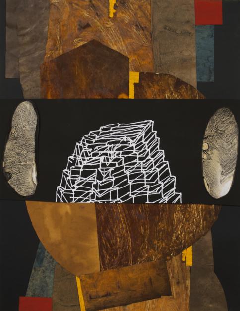 Enigmas de la femineidad 4 |Collage de Txabi Sagarzazu | Compra arte en Flecha.es