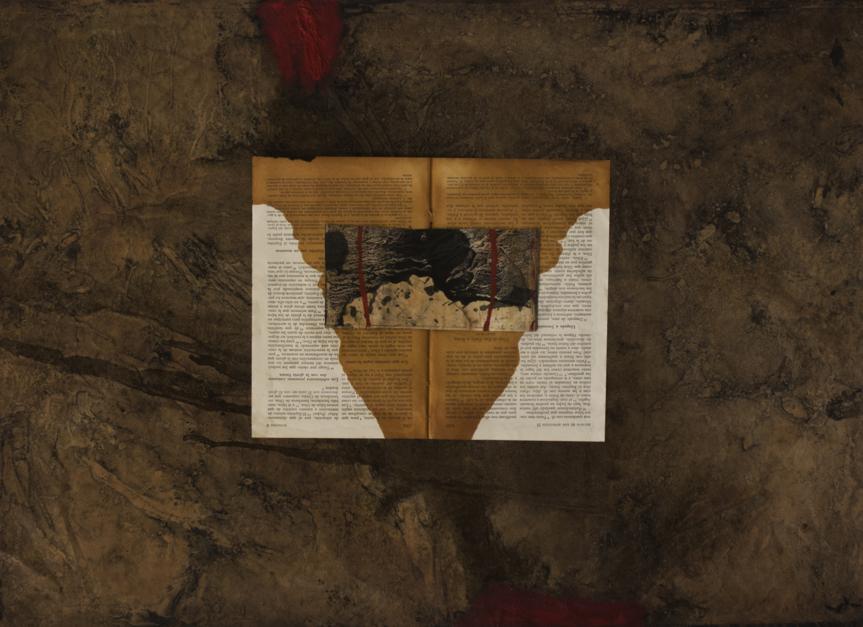 El libro de la femineidad  Collage de Txabi Sagarzazu   Compra arte en Flecha.es