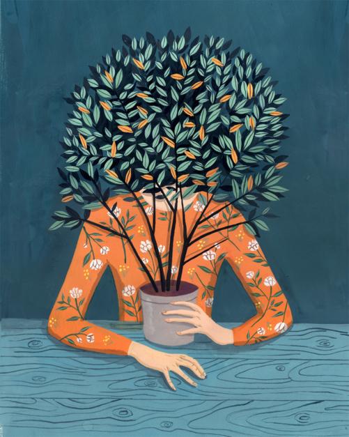 Laurel |Dibujo de Helena Perez Garcia | Compra arte en Flecha.es