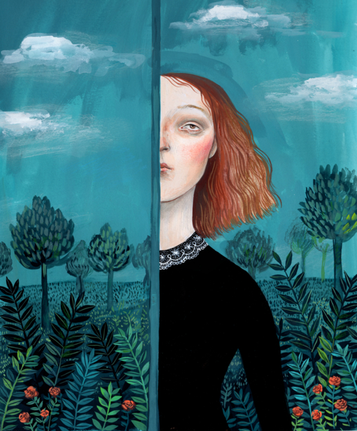 El Jardín Secreto |Dibujo de Helena Perez Garcia | Compra arte en Flecha.es